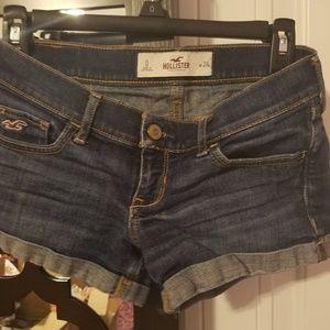 Hollister jean short shorts size 0